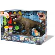 Dinossauro T-Rex Ataca 8170 Diver Toys