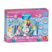 Dominó Princesa Do Gelo 28 Peças Em Madeira Brincadeira De Criança