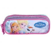Estojo Soft Duplo Frozen Elsa E Anna 60222 Dermiwil