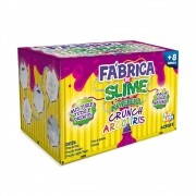 Fábrica De Slime Kimeleka Crunch Arco Íris Art Kids Acrilex