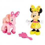 Fisher Price Boneca Minnie E O Amigo Pônei Disney Mattel