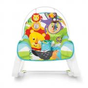 Fisher Price Cadeira De Balanço Macaquinho E Leão GDP94 Mattel
