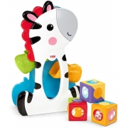 Fisher Price Zebra Com Blocos Surpresa CGN63 Mattel