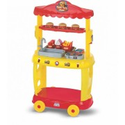 Food Truck Burguer Amarelo 8080 Magic Toys