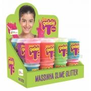 Gelele Slime Glitter 152G Doce Brinquedo Unidade