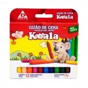 Gizão De Cera 12 Cores Koala