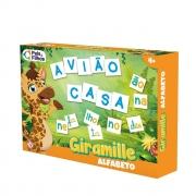 Jogo Alfabeto Bilíngue Giramille Escolar 10789 Pais E Filhos