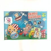 Jogo Da Memoria Animais Divertidos 2203 Pais E Filhos