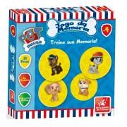 Jogo Da Memória Esquadrão Pet 24 Peças Em Madeira Brincadeira De Criança