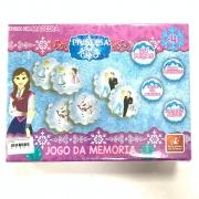 Jogo Da Memória Princesa Do Gelo 24 Peças Em Madeira Brincadeira De Criança