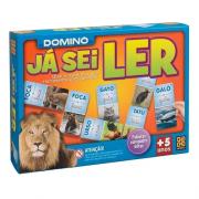 Jogo Domino Já Sei Ler 1697 Grow