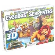 Jogo Escadas E Serpentes 3943 Grow
