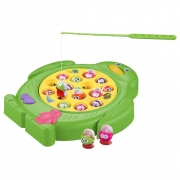 Jogo Pescaria Divertida 15 Peixes Com Som DMT6017 Dm Toys