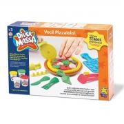 Kit Massinha Diver Massa Você Pizzaiolo 8059 Diver Toys