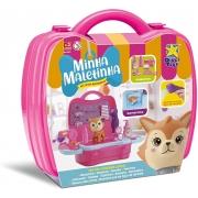 Kit Minha Maletinha Pet Shop Raposinha 8144 Diver Toys