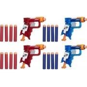 Lançadores Nerf N-Strike Sonic Fire E Ice Jolt A7957 Hasbro