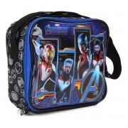 Lancheira Avengers Com Garrafa E Porta Lanche 11612 Dmw