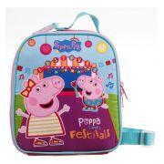 Lancheira Com Porta Lanche E Garrafa Peppa Pig  Dermiwil