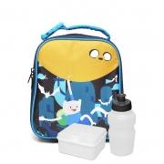Lancheira Soft Adventure Time 11131 Dmw