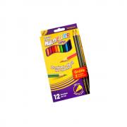 Lápis De Cor 12 Cores Mais 2 EcoLápis Grafite Multicolor