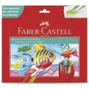 Lápis De Cor EcoLápis Aquarelável 60 Cores Faber Castell