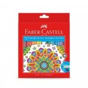 Lápis De Cor Ecolápis  Sextavado 72 Cores Faber Castell