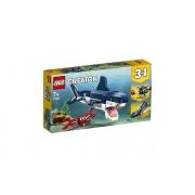 Lego City Criaturas Do Fundo Do Mar 230 Peças 31088