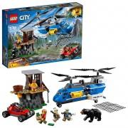 Lego City Detenção Na Montanha 303 Peças 60173