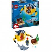 Lego City Mini Submarino Oceânico 41 Peças 60263