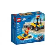 Lego City Off Road De Resgate Na Praia 79 Peças 60286