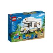 Lego City Trailer De Férias 190 Peças 60283