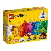 Lego Classic Blocos E Casas 270 Peças 11008