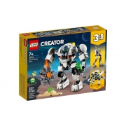 Lego Creator Robô De Mineração Espacial 327 Peças 31115