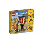 Lego Creator Safari Casa Na Arvore 397 Peças 31116