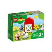 Lego Duplo Cuidando Dos Animais Da Fazenda 11 Peças 10949