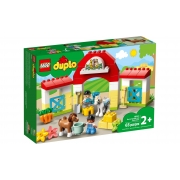 Lego Duplo Estabulo De Cavalos E Poneis 65 Peças 10951