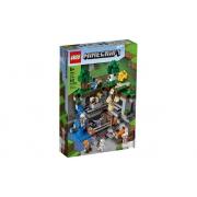Lego Minecraft A Primeira Aventura 542 Peças 21169