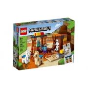 Lego Minecraft O Posto Comercial 201 Peças 21167