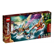Lego Ninjago Combate Naval De Catamara 780 Peças 71748