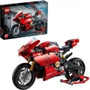 Lego Technic Ducati Panigali V4 R 646 Peças 42107