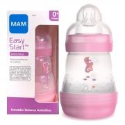 Mamadeira Mam Easy Start 160ml Anticólica Rosa 4662
