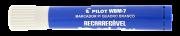 Marcador Para Quadro Branco Recarregável WBM-7 Azul Pilot