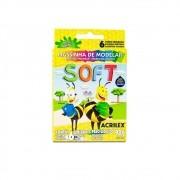 Massinha De Modelar Soft 6 Cores 90gr Acrilex