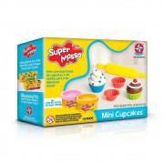 Massinha Super Massa Mini Cupcakes Estrela