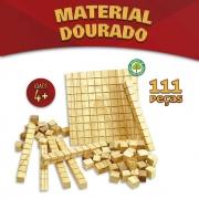Material Dourado Em Madeira 111 Peças 2922 Pais E Filhos