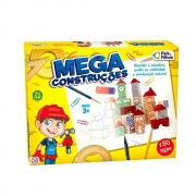 Mega Construções 150 Peças Madeira 7359 Pais E Filhos