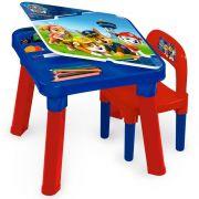 Mesa Com Cadeira Patrulha Canina 83432 Fun