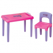 Mesa Meg Com Cadeira 3023 Magic Toys