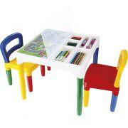 Mesinha Didatica Com Cadeiras 5825 Poliplac