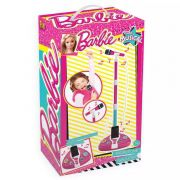 Microfone Fabuloso Barbie Com Função Mp3 Player Fun